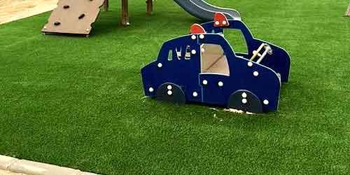 Cesped artificial para zonas infantiles