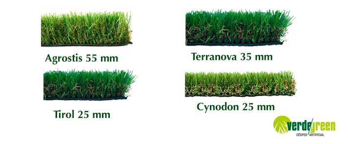 Tipos de c sped artificial que te ofrece verdegreenc sped for Tipos de cesped artificial