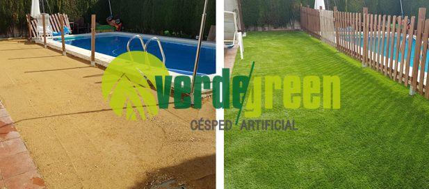 Blog de c sped artificial y jardineria verdegreen c sped - Como instalar cesped artificial sobre tierra ...